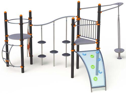 struttura ludica per enti locali / in acciaio / in acciaio inox / modulare