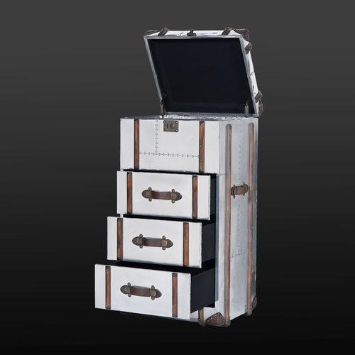 cassettiera moderna / in legno / in alluminio