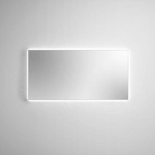 Specchio da bagno a muro / luminoso a LED / moderno / rettangolare Filolucido Rexa Design