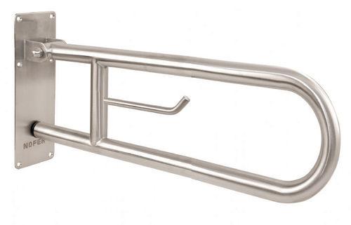 barra di sostegno in acciaio inox / a forma di U / da parete / contract