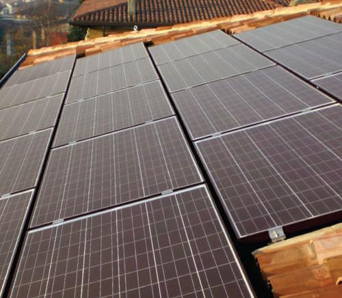 pannello fotovoltaico policristallino / ultra trasparente / colorato / con telaio in alluminio
