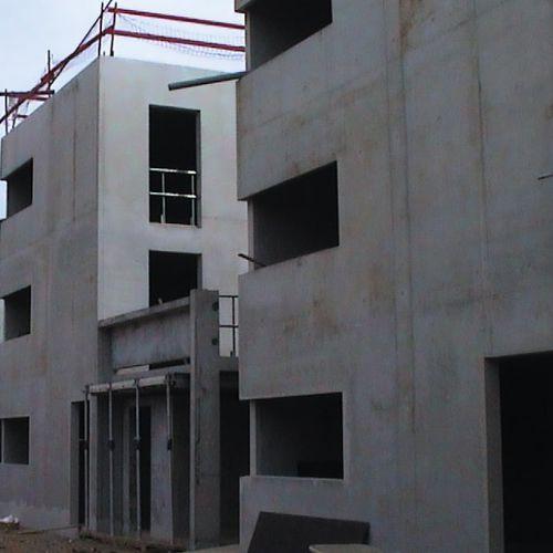 calcestruzzo ad alta resistenza / autocompattante / di sicurezza / per edifici