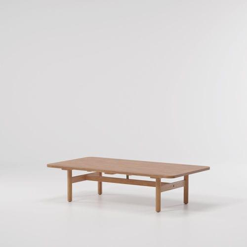 tavolino basso moderno / in teak / in marmo / rettangolare