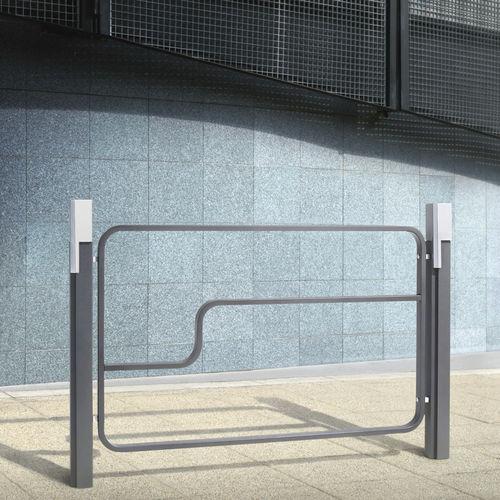 barriera di protezione / fissa / in alluminio / in ghisa
