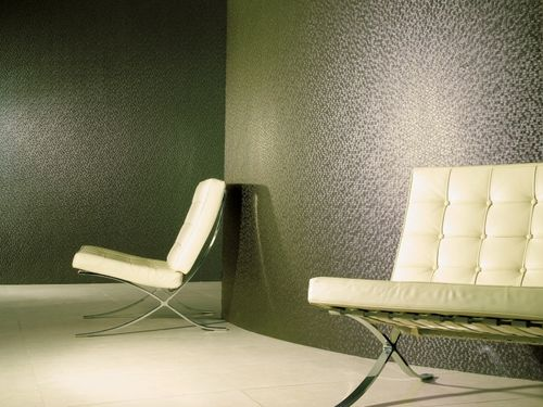 tessuto da parete / a motivi / in PVC / ignifugo