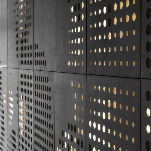 rivestimento di facciata in fibra di legno / liscio / in pannelli / FSC