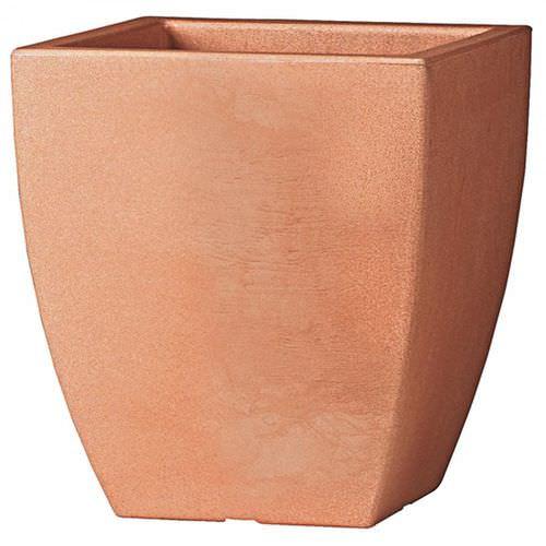 vaso da giardino in plastica / quadrato