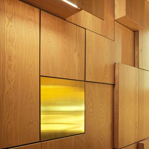 pannello decorativo di rivestimento / in MDF / in fibra di cellulosa / da parete