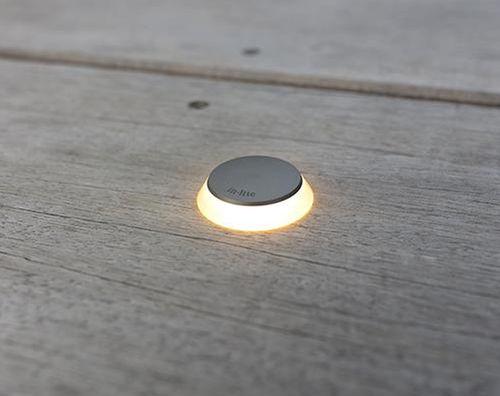 luce da incasso a pavimento / LED / tonda / in alluminio anodizzato