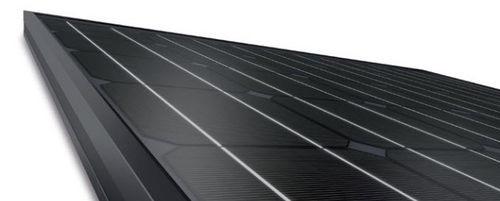 pannello fotovoltaico monocristallino / per tetto / black