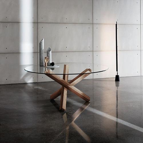 Tavolo moderno / in legno / in vetro / in legno laccato AIKIDO  Sovet