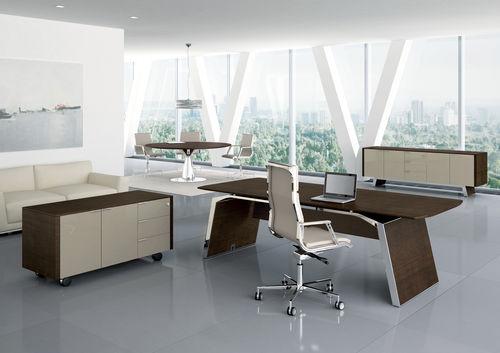 scrivania direzionale / in legno / moderna / professionale