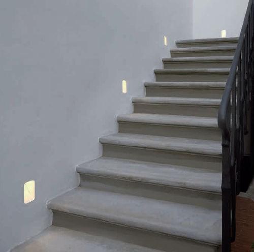 luce da incasso a soffitto / da incasso a muro / LED / rettangolare