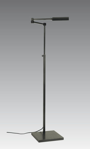 lampada da terra / moderna / in bronzo / ad altezza regolabile