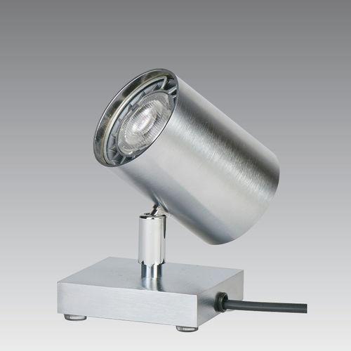 lampada da tavolo / moderna / in metallo cromato / LED
