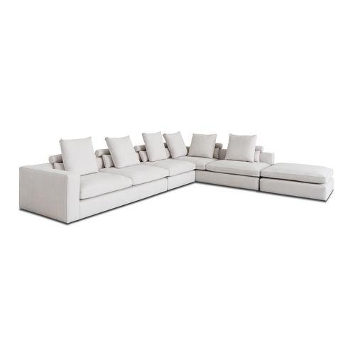 divano modulare / d'angolo / moderno / per zona reception