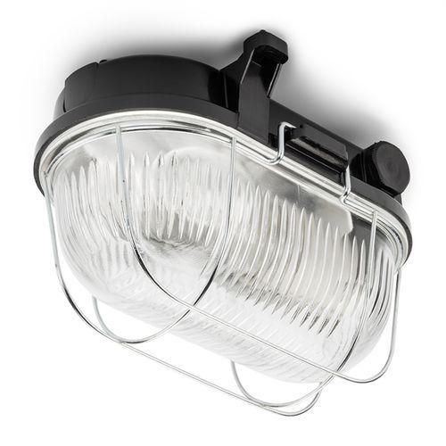 plafoniera classica / ovale / in vetro / in Bakelite®