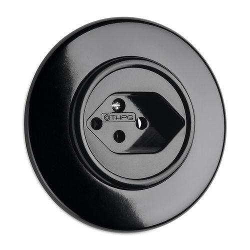Presa di corrente / da incasso / in Bakelite® / classica 100940 THPG Thomas Hoof Produktgesellschaft mbH & Co. KG