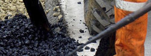 pavimento in asfalto / per strada / per il settore terziario / testurizzato