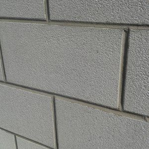 blocco di calcestruzzo pieno / per muro / per facciata / ad alte prestazioni