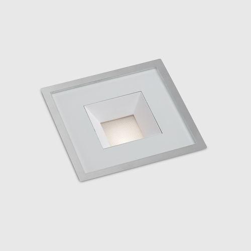 luce da incasso a pavimento / LED / quadrata / tonda