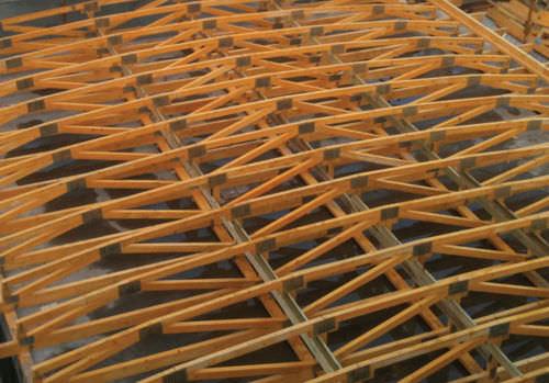 capriata in legno / prefabbricata