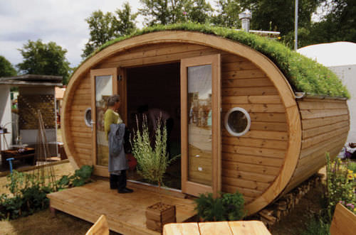 micro-casa prefabbricata / moderna / ecologica