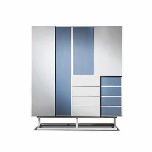 armadio modulare / moderno / in metallo / in MDF