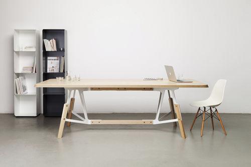 tavolo da pranzo moderno / in quercia / in noce / in frassino