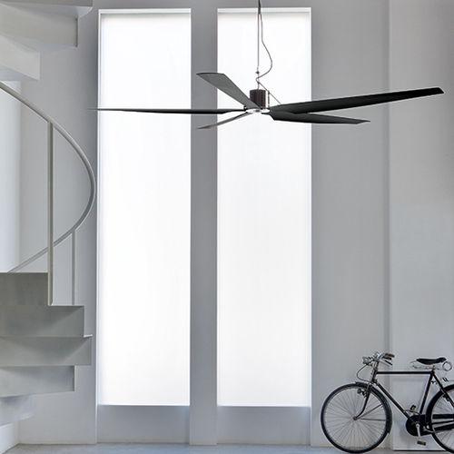 Ventilatore a soffitto / residenziale / in metallo TWO01 by Giulio Gianturco CEADESIGN