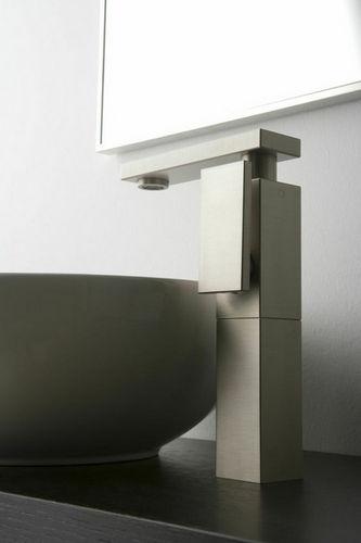 Miscelatore per lavabo / in metallo cromato / in nichel / da bagno SOLAR: 2310100 GRAFF
