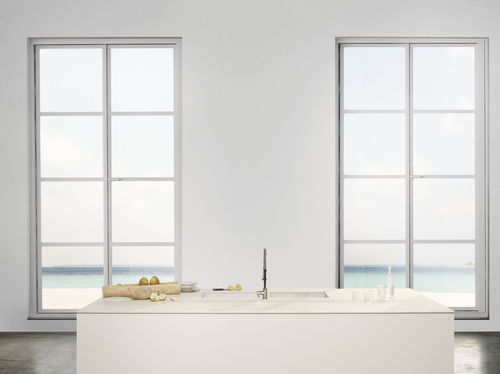 Piano di lavoro per cucina in ceramica / da esterno / da interno / antiabrasione LEGNO VENEZIA: CORDA LAMINAM