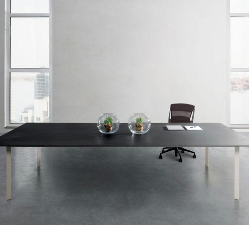 Piano per tavolo in ceramica / resistente al calore / antimacchia / antiabrasione OSSIDO LAMINAM