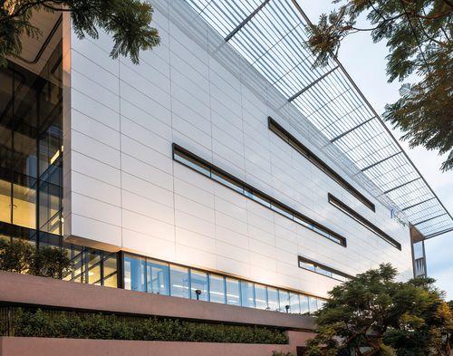Rivestimento di facciata in ceramica / liscio / per facciata ventilata COLLECTION: BIANCO LUCIDATO LAMINAM