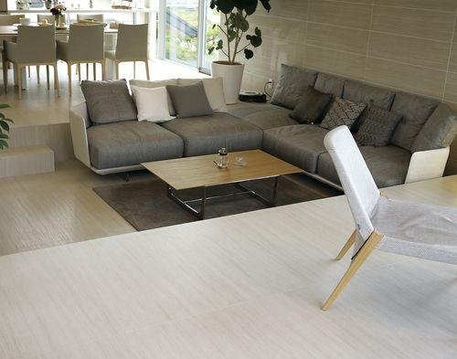 Pavimento in ceramica / residenziale / a quadrotte / liscio PIETRE: OSSIDIANA VENA CHIARA LAMINAM