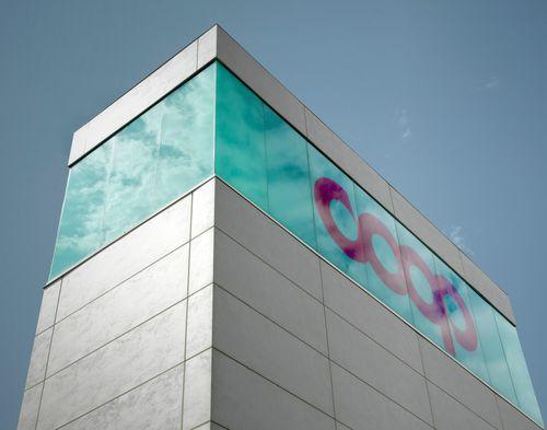 Rivestimento di facciata in ceramica / opaco / aspetto metallo OXIDE: AVORIO LAMINAM