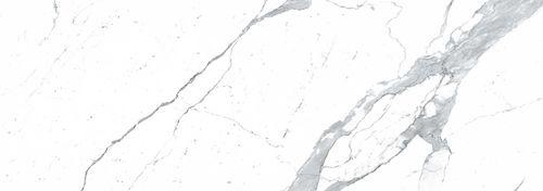 Pavimento in ceramica / professionale / a quadrotte / lucido MARMI: BIANCO STATUARIO VENATO LAMINAM