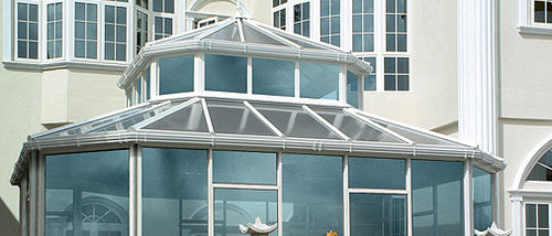 veranda in policarbonato