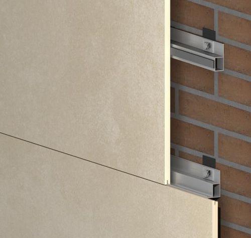 Sistema di fissaggio metallo / per rivestimento di facciata / per interni GR-INT SISTEMA MASA SL