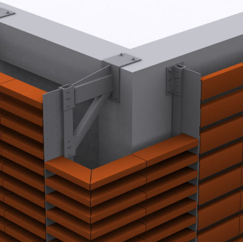 Sistema di fissaggio metallo / per rivestimento di facciata / per facciata ventilata / per esterni SPECIAL MASA SISTEMA MASA SL