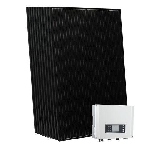 pannello solare ibrido monocristallino / vetro-vetro
