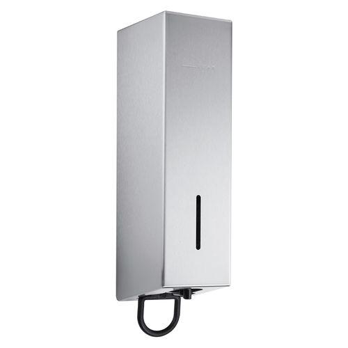 distributore di sapone contract / da parete / in acciaio inossidabile / manuale