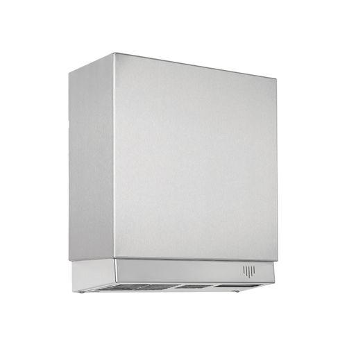 asciugamani elettrico automatico / da parete / metallo