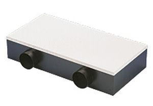 diffusore d'aria da parete / rettangolare