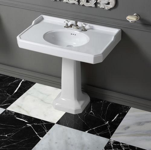 Lavabo da terra / rettangolare / in ceramica / classico BP790 BLEU PROVENCE