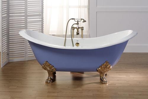 Vasca da bagno su piedi / ovale / in ghisa 5050 - 5070 - 5080 BLEU PROVENCE