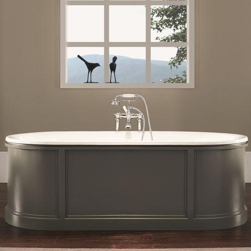 Vasca da bagno da appoggio / ovale / in ghisa 1200 BLEU PROVENCE