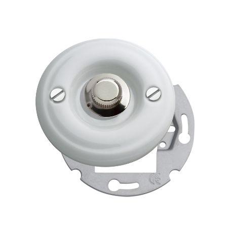 dimmer per illuminazione / rotativo / in metallo / in legno