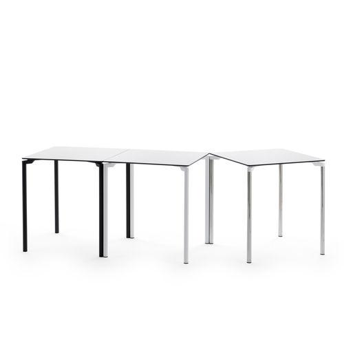tavolo in stile industriale / in alluminio / in HPL / rettangolare