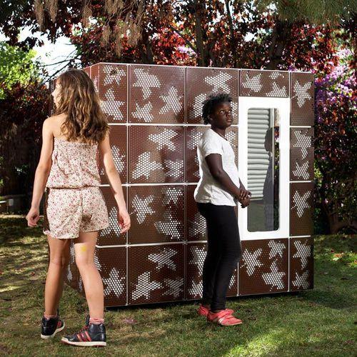 casetta da gioco per esterni / da giardino / a pavimento
